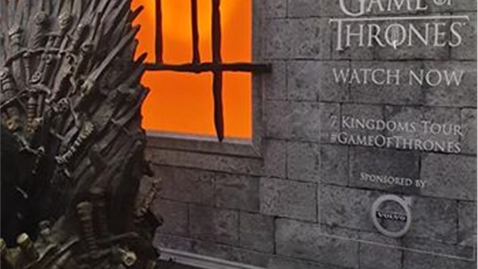 The Iron Throne from Game of Thrones is in King's Cross station in London.  To m...