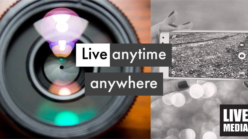 Livemedia on the go! Live anytime anywhere!  Join the thrill...