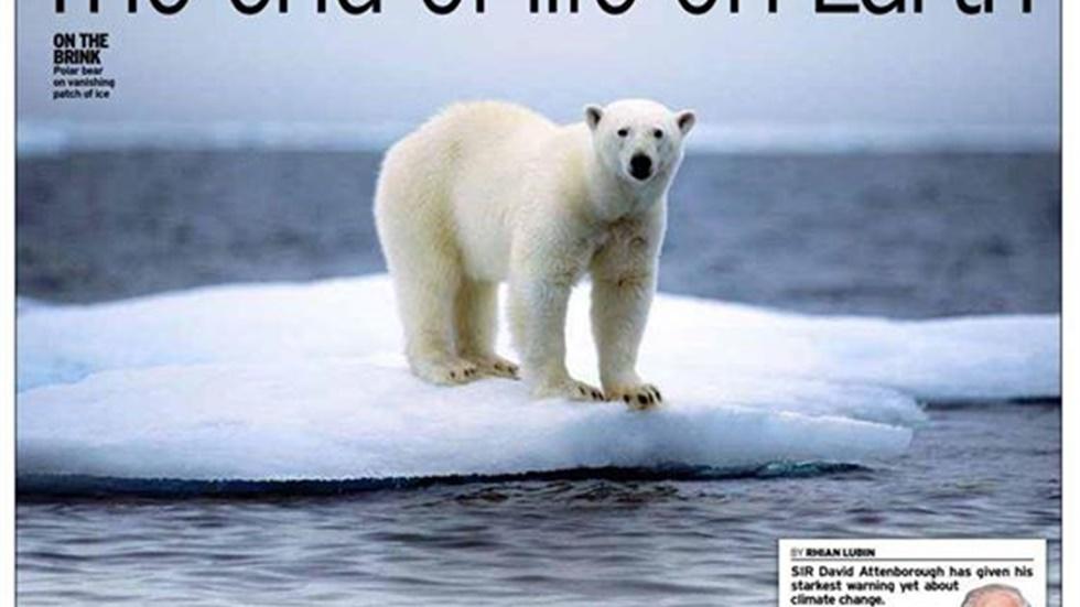 Sir David Attenborough warns 'we're running out of time to save...