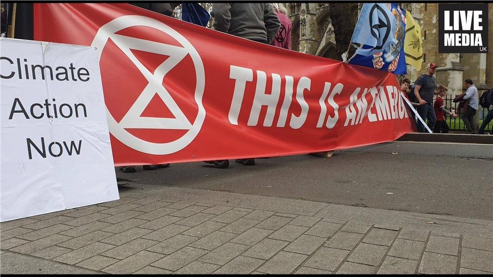 Έκτη ημέρα κινητοποιήσεων στο Λονδίνο κατά της κλιματικής αλλαγής