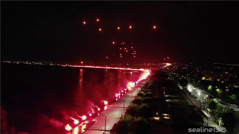 Drone στην παραλία Θεσσαλονίκης
