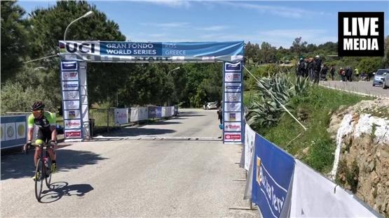 Τερμάτισε το UCI KOS GRAN FONDO 2019