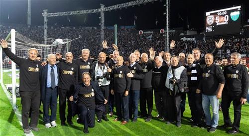 Από τη γιορτή του ΠΑΟΚ για την κατάκτηση του πρωταθλήματος 2018-19 | Πηγή Φωτογραφίας: Michail Pappous