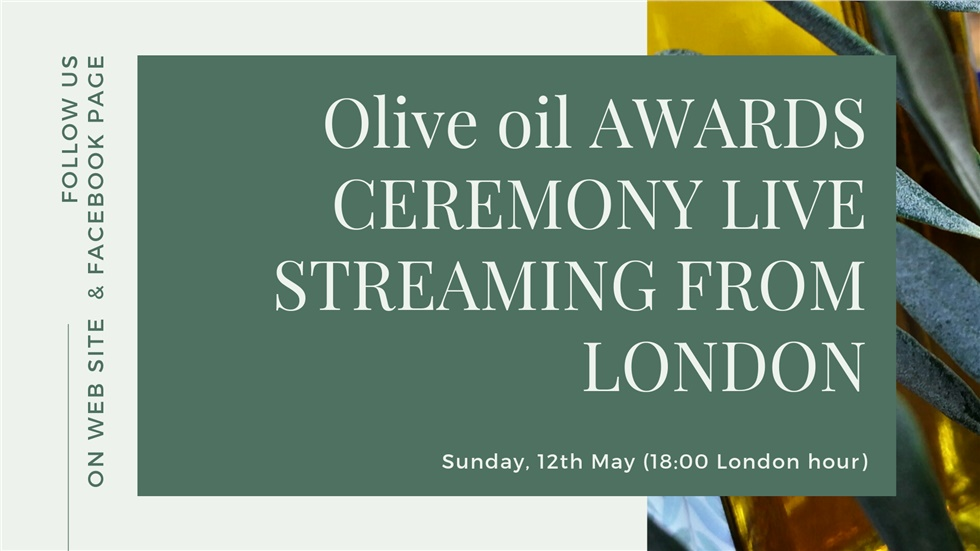 London Olive oil Awards ceremony 2019
