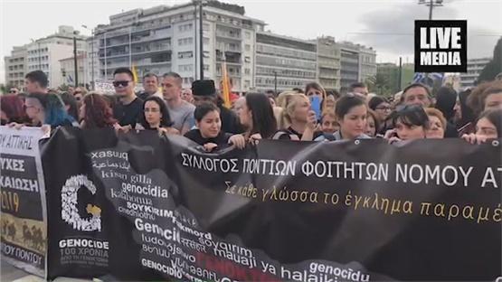 Βίντεο από την πλατεία Συντάγματος και τις εκδηλώσεις για τα...