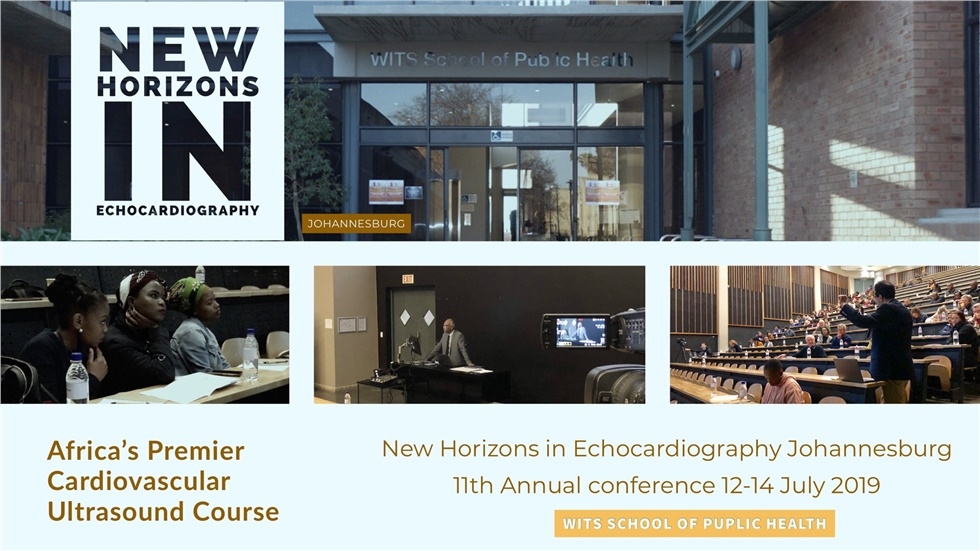 New Horizons in Echocardiography Johannesburg | 11th Annual conference