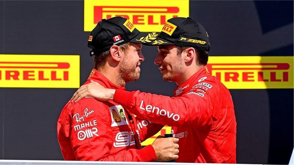 F1                   GP Montreal Canada  Στο Βάθρο η Ferrari...