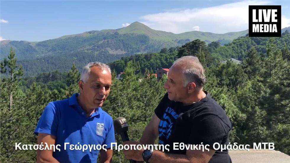 Bike Odyssey 2019 . Με τον Προπονητή της Εθνικής Ομάδας ΜΤΒ ΓΙώργο...