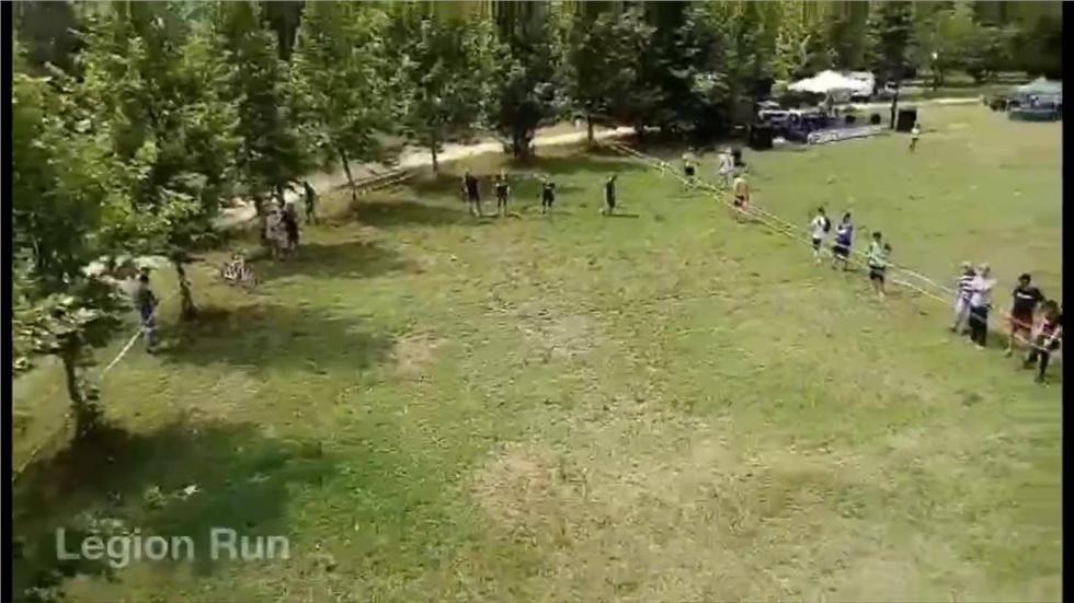 Legion Run . 1000 άτομα 5 χιλιόμετρα 21 εμπόδια στα Λουτρά Λαγκαδά....