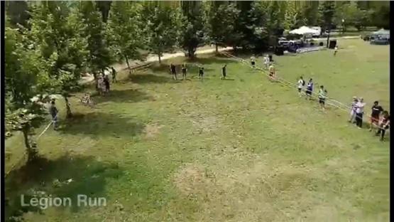 Legion Run . 1000 άτομα 5 χιλιόμετρα 21 εμπόδια στα Λουτρά Λαγκαδά