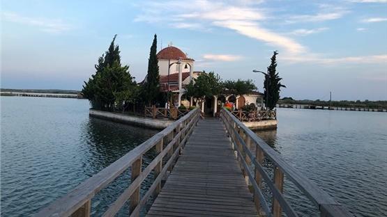 Άγιος Νικόλαος (από το 1904) & Παναγία Παντάνασσα, Λίμνη Βιστωνίδα