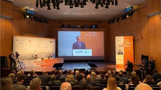 Δείτε ζωντανά από το Livemedia την ομιλία του Κυριάκου Μητσοτάκη...