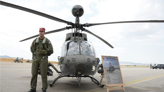 Τελετή Παραλαβής Ελικοπτέρων CH-47 Chinook και OH-58D Kiowa