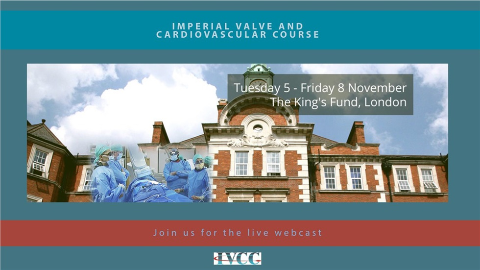 Imperial Valve and Cardiovascular Course 2019 | London