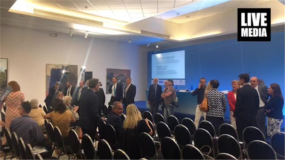 Υπογραφή Σύμβασης για την παραχώρηση του δικαιώματος έρευνας και εκμετάλλευσης υδρογοναναθράκων στη θαλάσσια περιοχή «Δυτικά της Κρήτης»