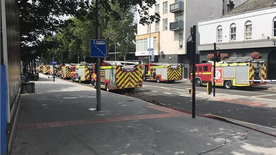 Walthamstow Fire: More than 150 firefighters with 25 fire engines,...