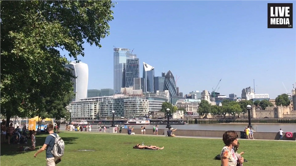 UK recorded the hottest ever day in July as temperatures reached...