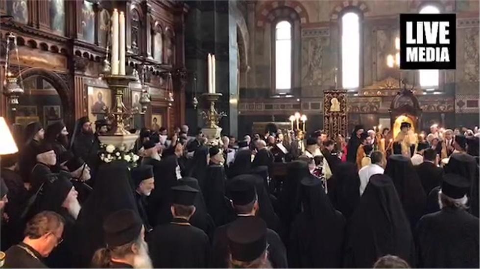 Η ενθρόνιση του νέου Αρχιεπισκόπου Θυατείρων και Μεγάλης Βρετανίας...