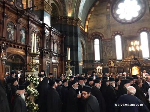 Ενθρόνιση νέου Αρχιεπισκόπου Θυατείρων και Μεγάλης Βρετανίας