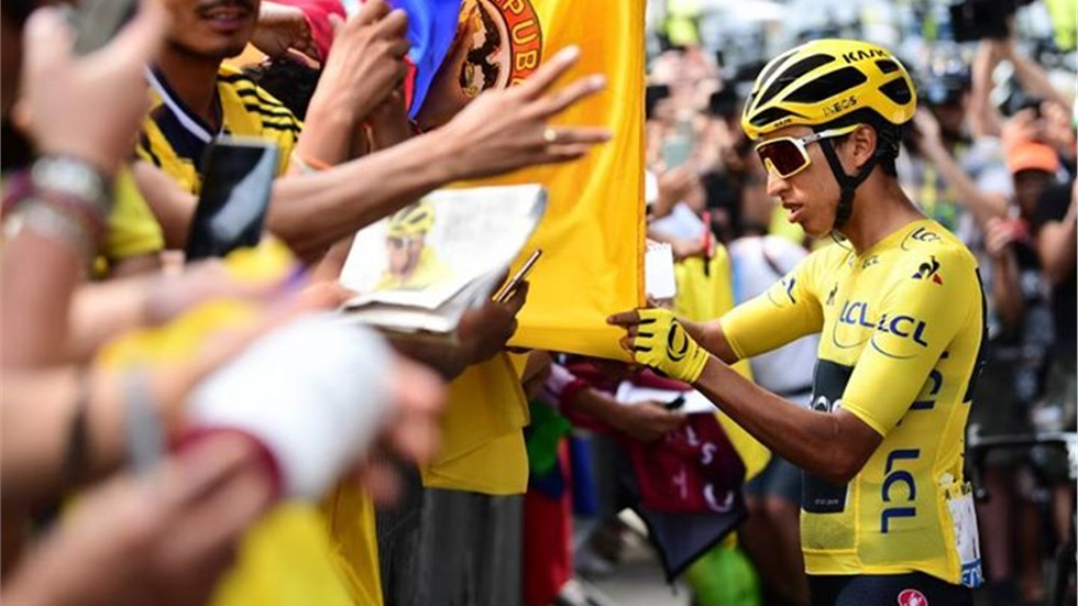 Tour De France 2019 O Κολομβιανός  Egan Bernal είναι ο νικητής...