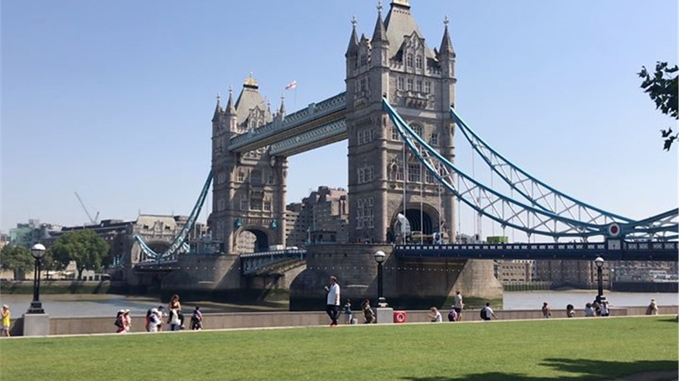 The iconic Tower Bridge in all its glory!   Tower Bridge was...