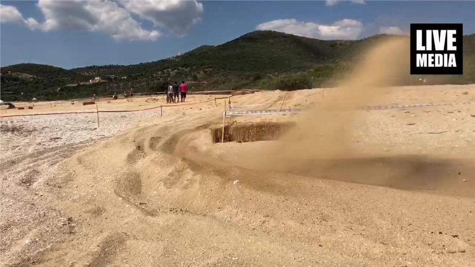 Απόλυτος νικητής του 9ου sand scramble ο Πρωταθλητής του MX1...