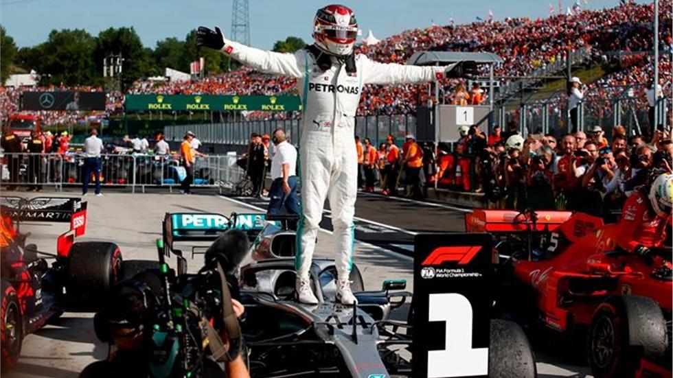 FORMULA 1                         GP Ουγγαρίας Την νίκη ο Hamilton...