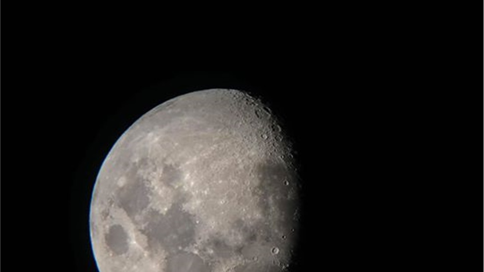 Αυγουστιάτικο φεγγάρι και ο πλανήτης Δίας  #Moon #Jupiter #...