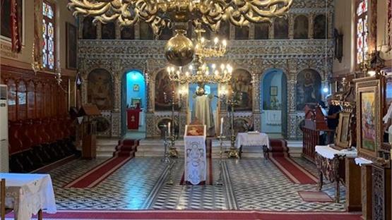 Κοντάραινα, Ιερός Ναός Κοιμήσεως της Θεοτόκου.     Κοιμήσεως...