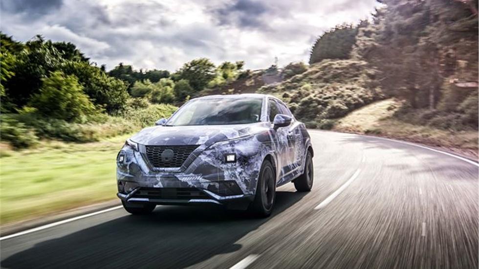 Διέρρευσαν οι πρώτες εικόνες του νέου Nissan Juke στο Ην. Βασίλειο!...