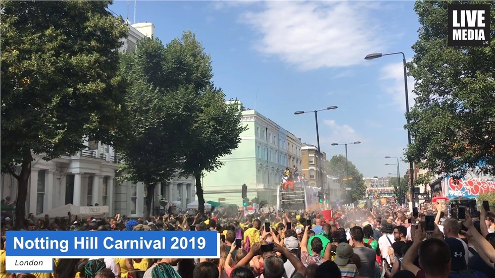 Notting Hill Carnival: The annual event is taking place on Sunday 25th and Monday 26th of August