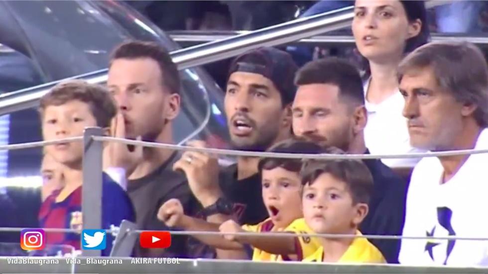 O γιος του Μέσι πανηγυρίσε γκολ της Μπέτις!  (video)