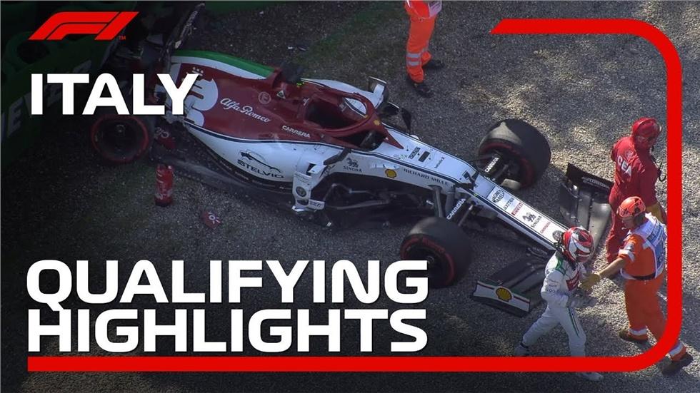 Italian Grand Prix :  Qualifying Highlights