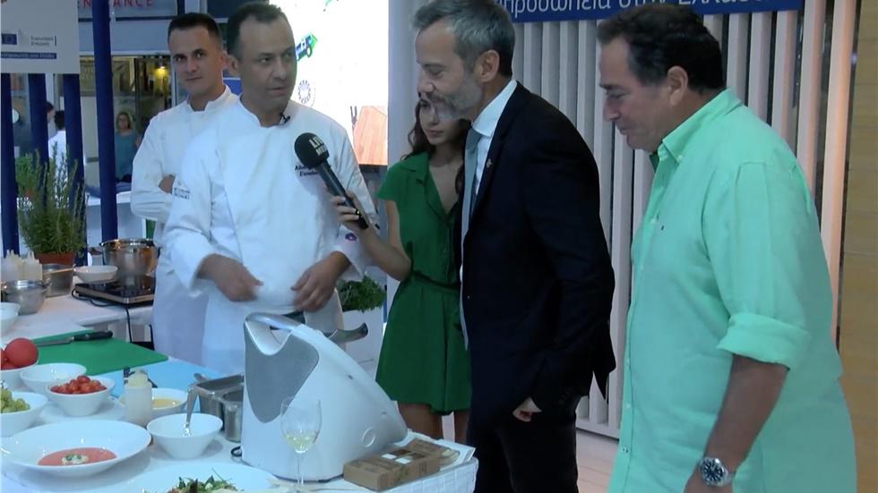 Ο Δήμαρχος Θεσσαλονίκης σε εκδήλωση της Ευρωπαϊκής Επιτροπής...