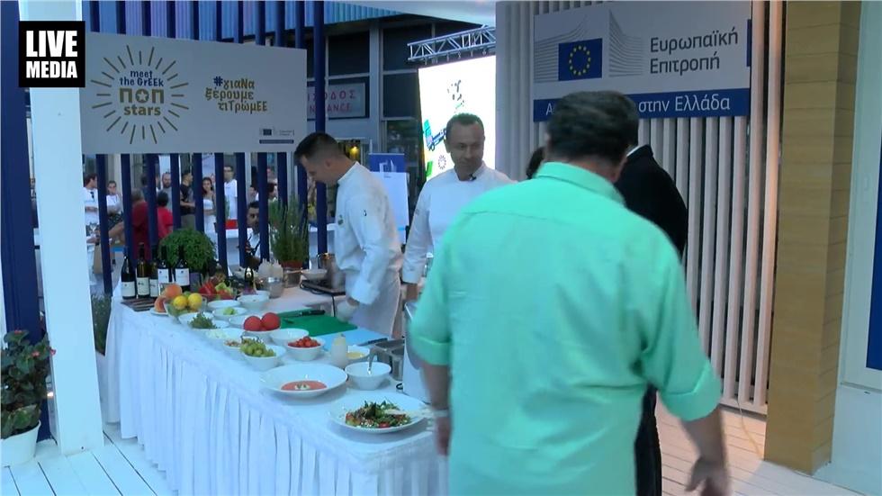 Ο Δήμαρχος Θεσσαλονίκης Κωνσταντίνος Ζέρβας σε εκδήλωση της E.E
