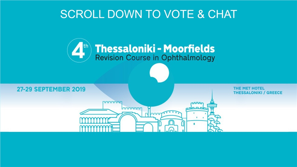 Congresses | 4th Thessaloniki - Moorfields Revision Course in Ophthalmology