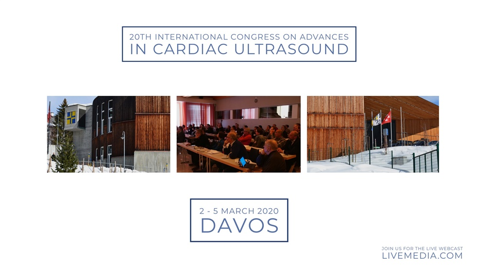 20th International Congress on Advances in Cardiac Ultrasound