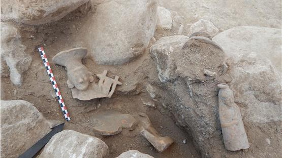 Σημαντικά αρχαιολογικά ευρήματα από τις ανασκαφές στην Αχλάδα...
