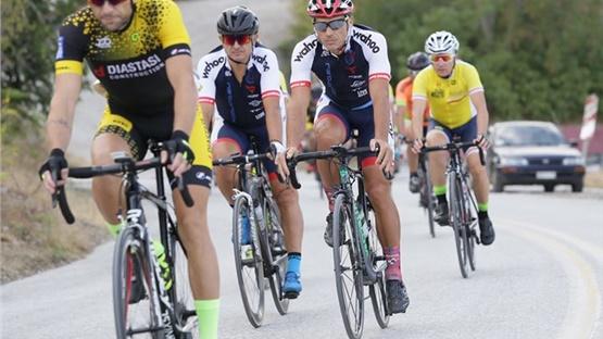 Πρωτάθλημα Ποδηλασίας Δρόμου ΕΠΣΜΑΘ κατηγορίας Masters . Επεκράτησαν...