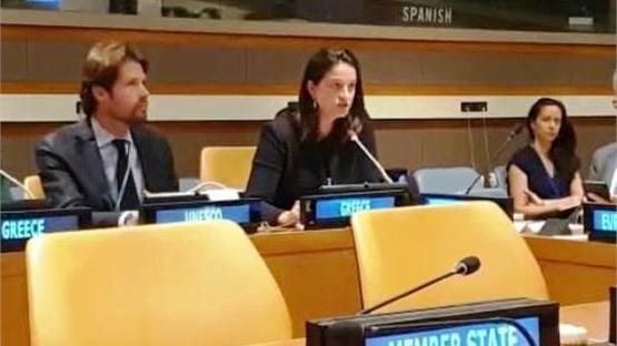 Ομιλία της Υπουργού Παιδείας στον ΟΗΕ