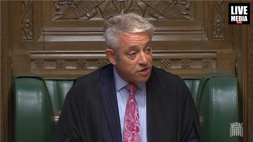John Bercow: The atmosphere in the Chamberwas the worst in 22...