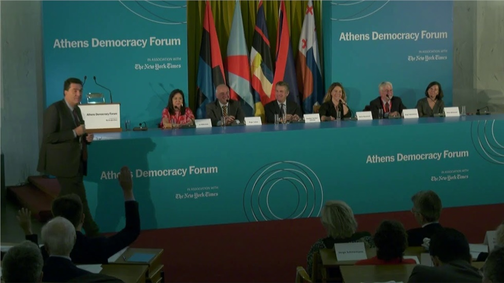 Athens Democracy Forum 2019