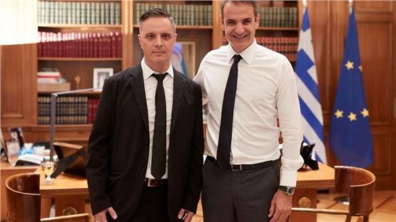 Ο Στηβ Βρανάκης  σύμβουλος του Πρωθυπουργού για το re-branding...