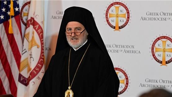 Ο Αρχιεπίσκοπος Αμερικής Ελπιδοφόρος και η Ομογένεια δίπλα στον...