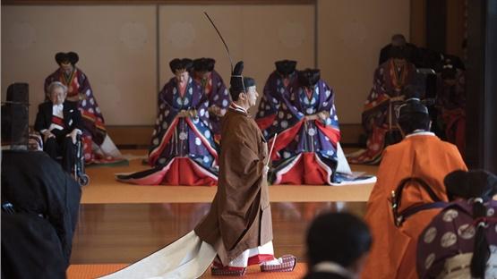 Ιαπωνία: Η ενθρόνιση του αυτοκράτορα Ναρουχίτο