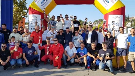 Ολοκληρώθηκε το 48ο Rally Sprint Θερμαϊκού