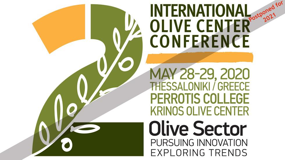 2ο Διεθνές Συνέδριο Κέντρου Ελιάς | Ελαιοκομικός Τομέας: Αναζητώντας...
