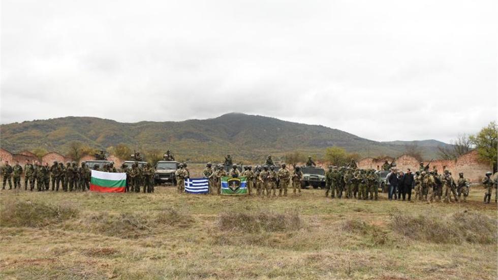 Φωτογραφίες: Κοινή άσκηση ελληνικών και βουλγαρικών ειδικών δυνάμεων