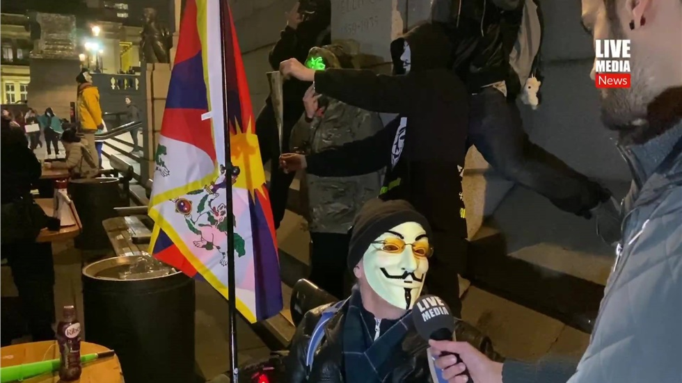 5th of November - Million Mask March in London   #millionmaskmarch...