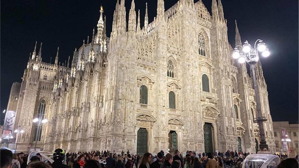 Piazza del Duomo Milan #milan